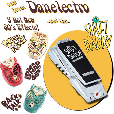 Danelectro Guitar Effects