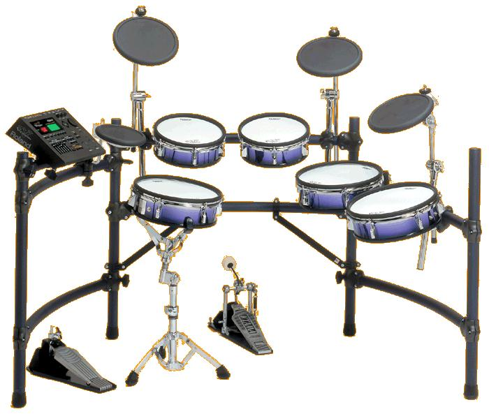 Roland E-Drums and Keyboards